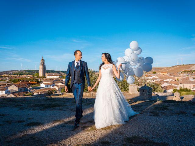 La boda de Ismael y Mari Luz en Valoria La Buena, Valladolid 46