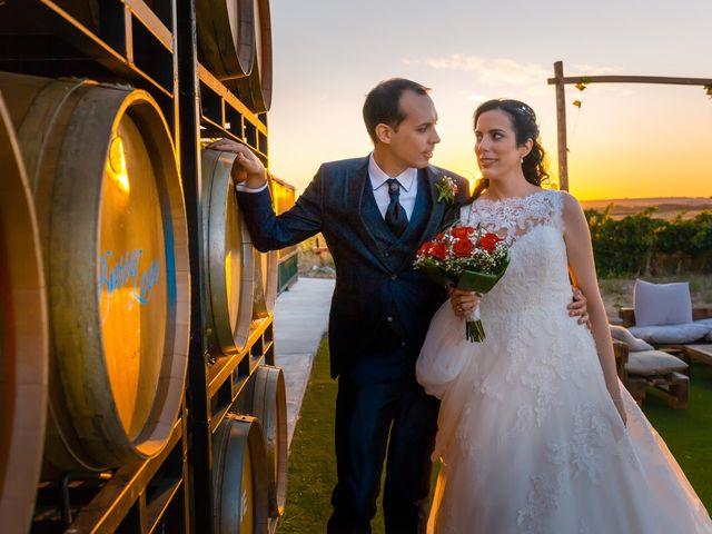 La boda de Ismael y Mari Luz en Valoria La Buena, Valladolid 58