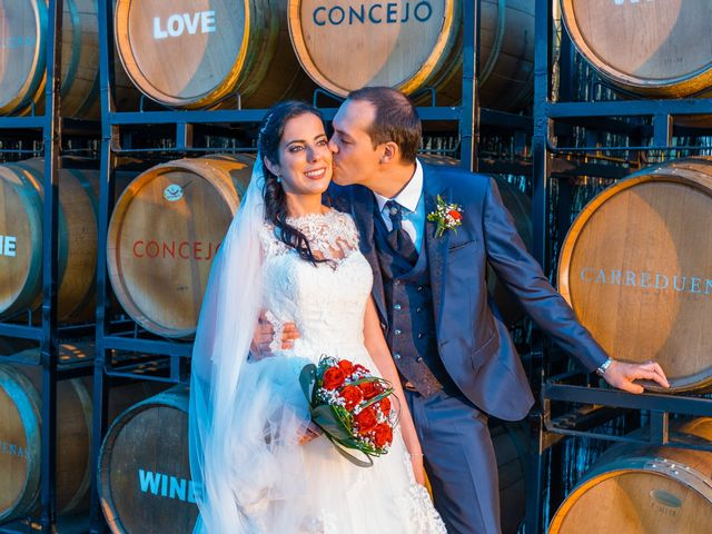 La boda de Ismael y Mari Luz en Valoria La Buena, Valladolid 60
