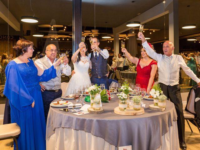 La boda de Ismael y Mari Luz en Valoria La Buena, Valladolid 80