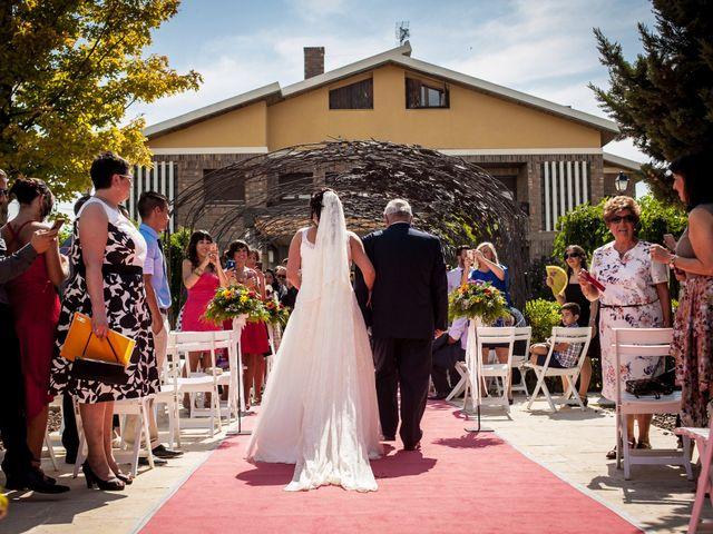 La boda de Sergio y Bea en Pedrola, Zaragoza 22