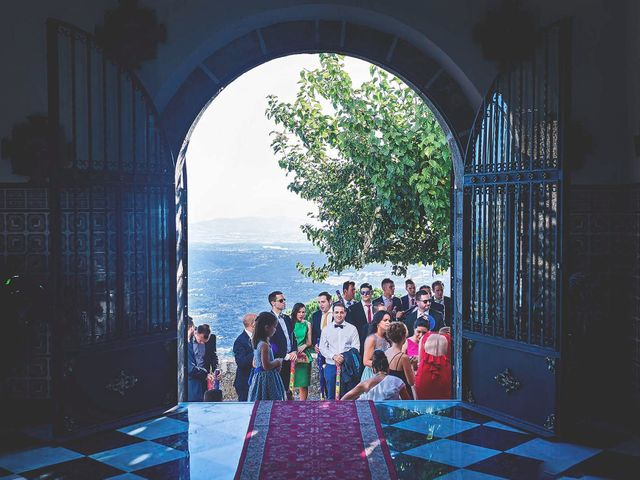 La boda de Luis y María en Montanchez, Cáceres 16