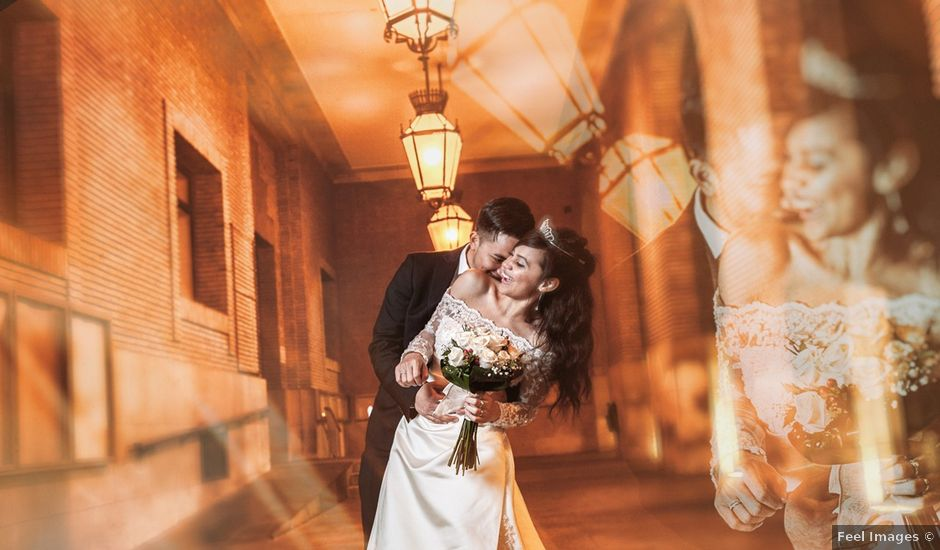 La boda de Geovany y Abril en Zaragoza, Zaragoza