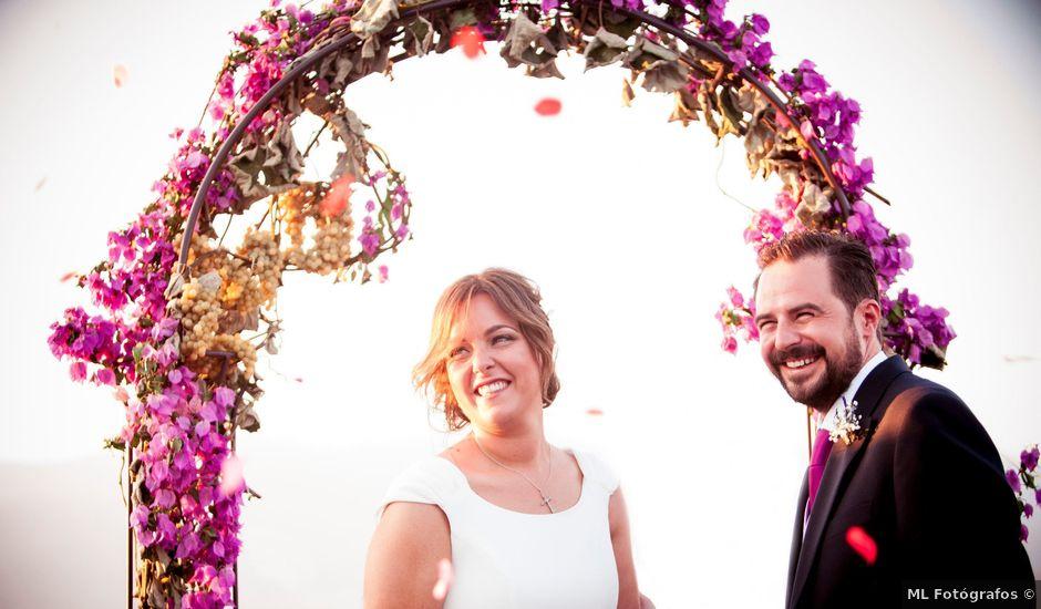 La boda de Félix y Lucía en Jarandilla, Cáceres