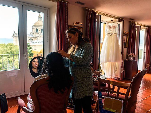 La boda de Fernando y Silavana en Guadarrama, Madrid 8