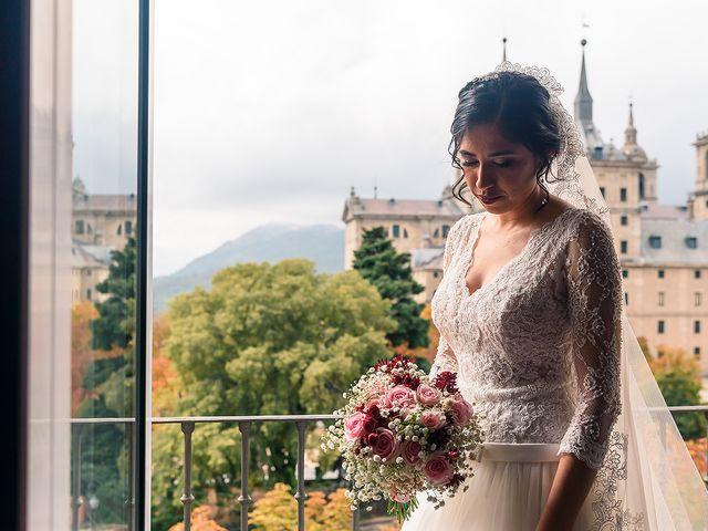 La boda de Fernando y Silavana en Guadarrama, Madrid 31