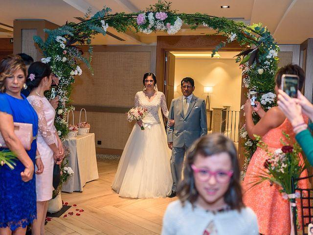 La boda de Fernando y Silavana en Guadarrama, Madrid 35