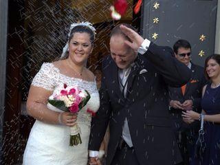 La boda de Elizabeth y Ángel