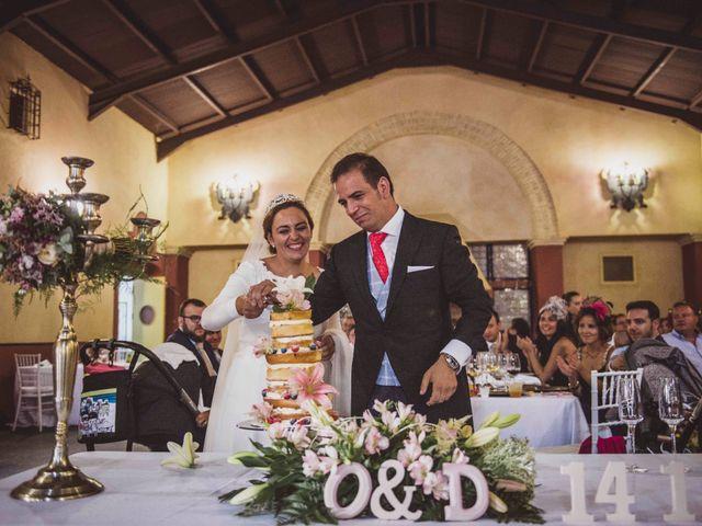 La boda de Obdulia y David