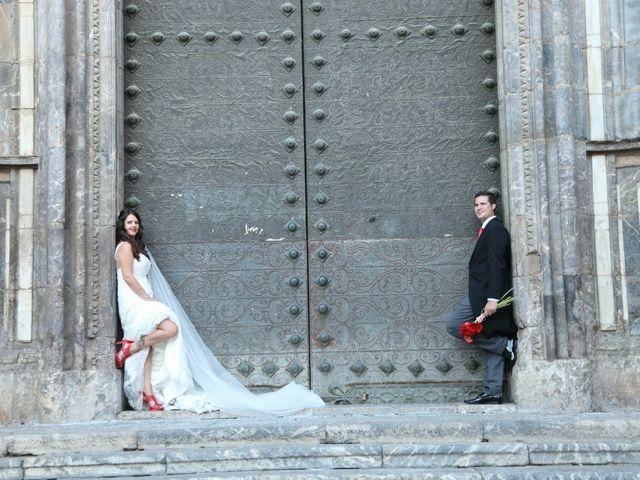 La boda de Jose Luis y Rebeca en San Miguel De Salinas, Alicante 1