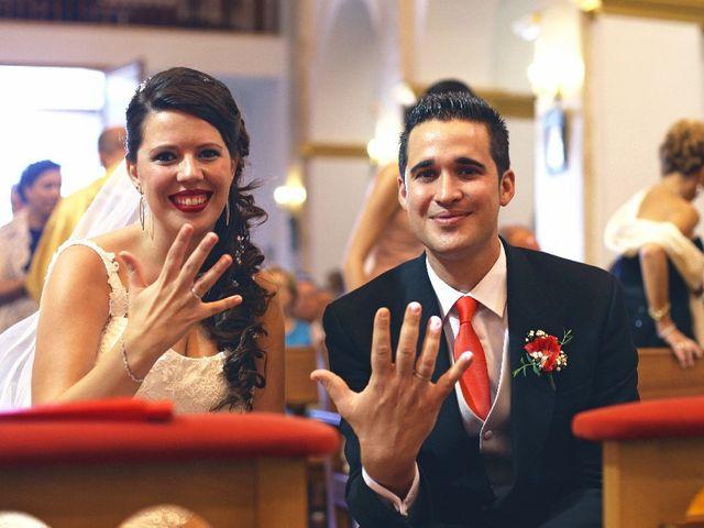 La boda de Jose Luis y Rebeca en San Miguel De Salinas, Alicante 6