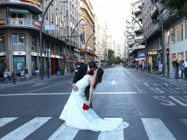 La boda de Jose Luis y Rebeca en San Miguel De Salinas, Alicante 10