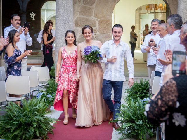 La boda de Javier y Conchi en Nogueira De Ramuin, Orense 3