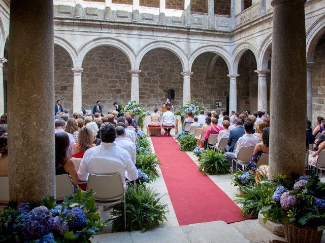 La boda de Javier y Conchi en Nogueira De Ramuin, Orense 4