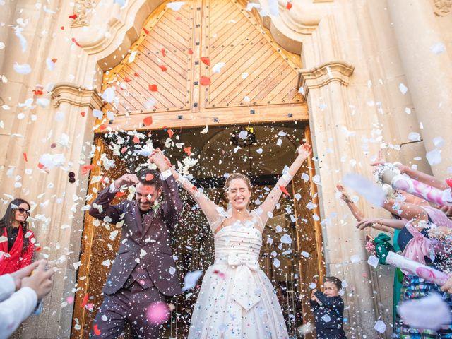 La boda de Ricard y Silvia en Alcarras, Lleida 1