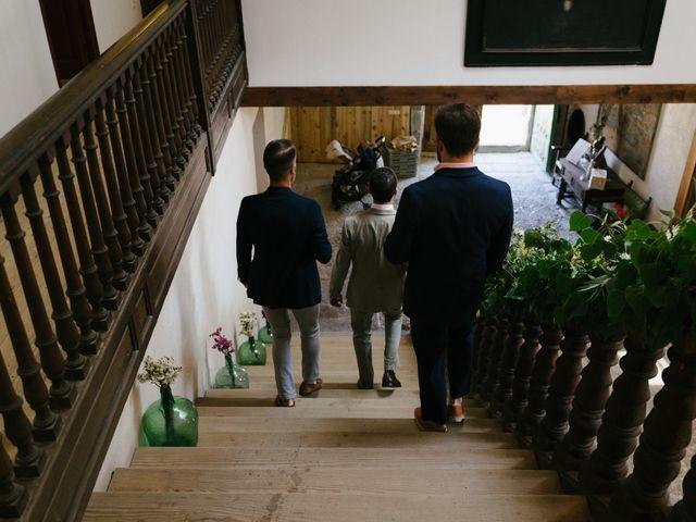 La boda de David y Idoya en Segovia, Lugo 13