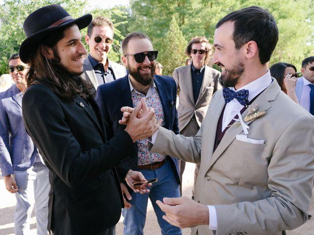 La boda de David y Idoya en Segovia, Lugo 23