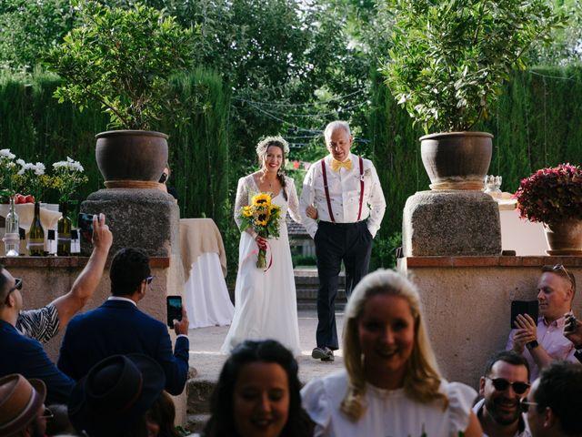 La boda de David y Idoya en Segovia, Lugo 37