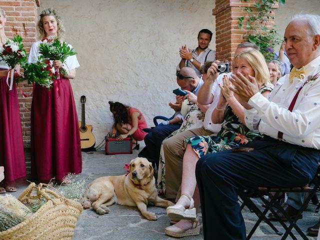 La boda de David y Idoya en Segovia, Lugo 41