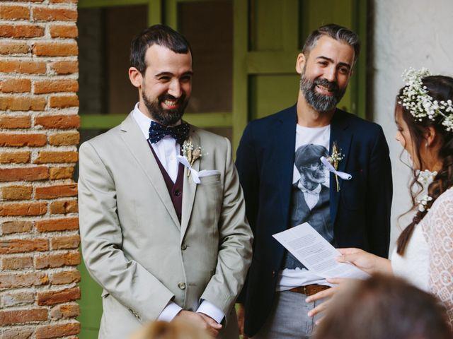 La boda de David y Idoya en Segovia, Lugo 44