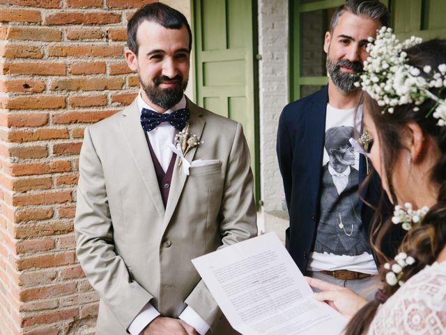 La boda de David y Idoya en Segovia, Lugo 45