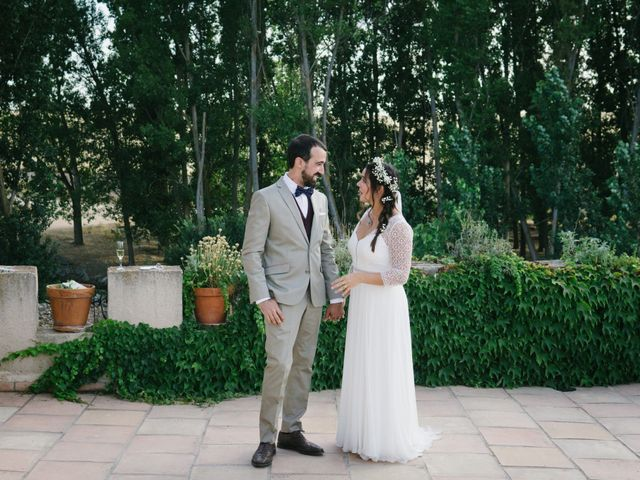 La boda de David y Idoya en Segovia, Lugo 60