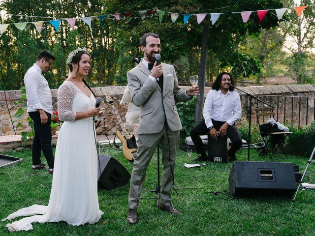 La boda de David y Idoya en Segovia, Lugo 77
