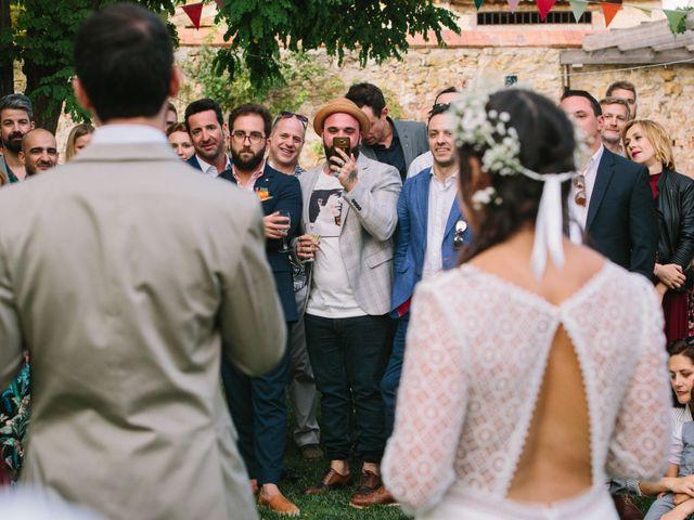 La boda de David y Idoya en Segovia, Lugo 79