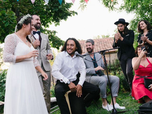La boda de David y Idoya en Segovia, Lugo 83