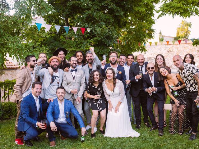 La boda de David y Idoya en Segovia, Lugo 86