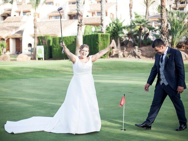 La boda de Víctor y Vanesa en Los Belones, Murcia 7