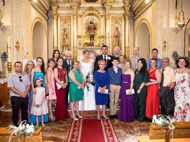 La boda de Víctor y Vanesa en Los Belones, Murcia 27