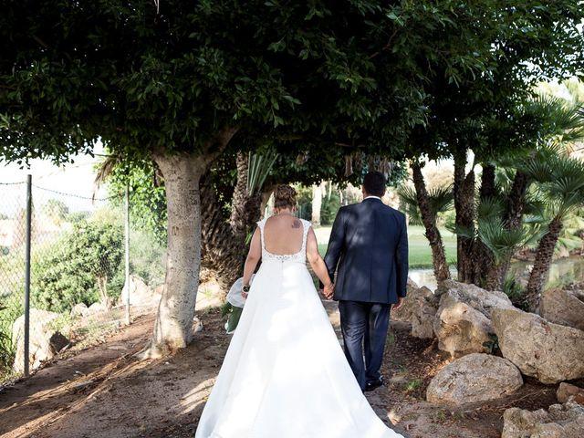 La boda de Víctor y Vanesa en Los Belones, Murcia 35