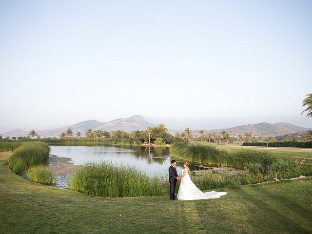 La boda de Víctor y Vanesa en Los Belones, Murcia 37