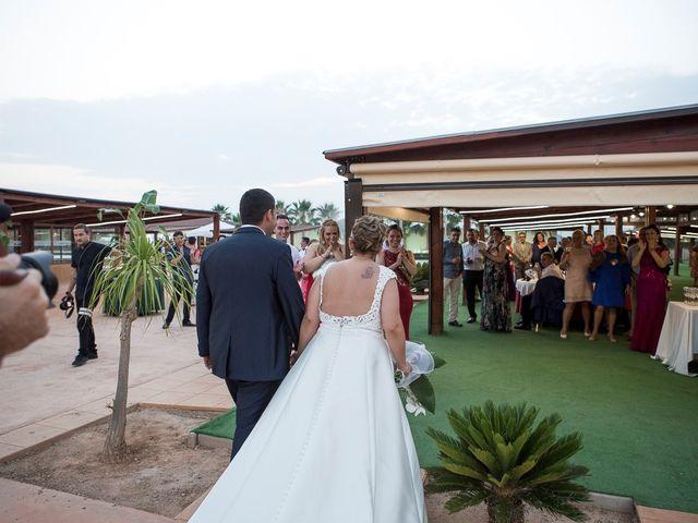 La boda de Víctor y Vanesa en Los Belones, Murcia 41