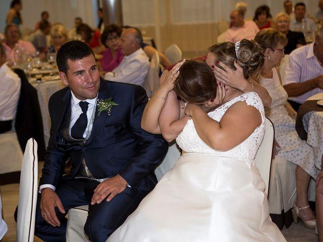 La boda de Víctor y Vanesa en Los Belones, Murcia 79