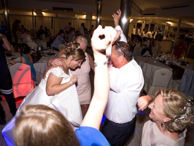 La boda de Víctor y Vanesa en Los Belones, Murcia 89