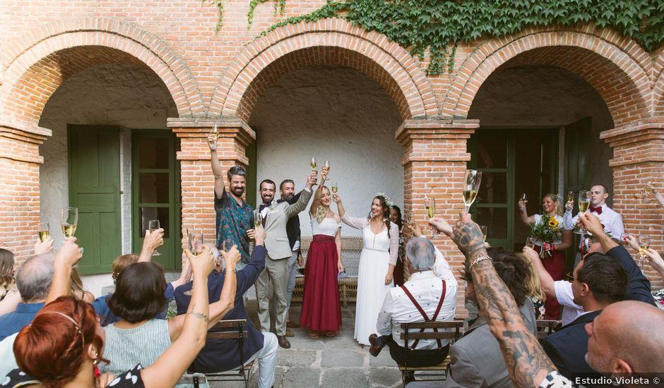 La boda de David y Idoya en Segovia, Lugo