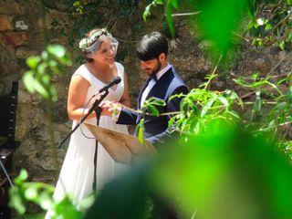 La boda de Flor y Nazaret