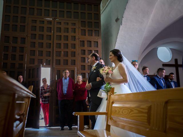 La boda de Miguel y Lourdes en Aliseda, Cáceres 1