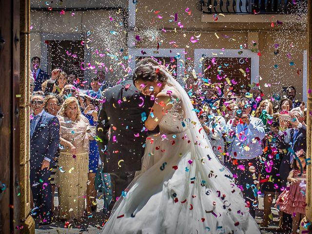 La boda de Miguel y Lourdes en Aliseda, Cáceres 4