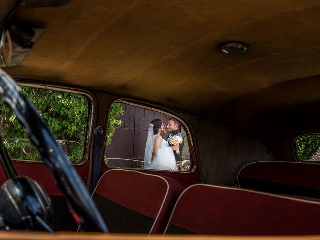 La boda de Miguel y Lourdes en Aliseda, Cáceres 12