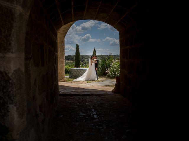 La boda de Miguel y Lourdes en Aliseda, Cáceres 14