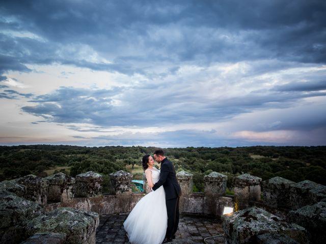 La boda de Miguel y Lourdes en Aliseda, Cáceres 16