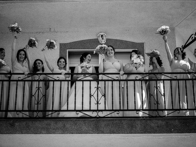 La boda de Miguel y Lourdes en Aliseda, Cáceres 22