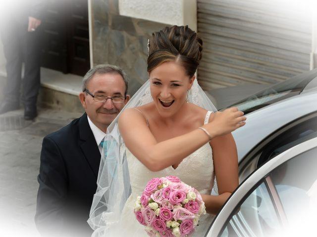 La boda de Antonio y Mª José en Venta Nueva, Almería 22