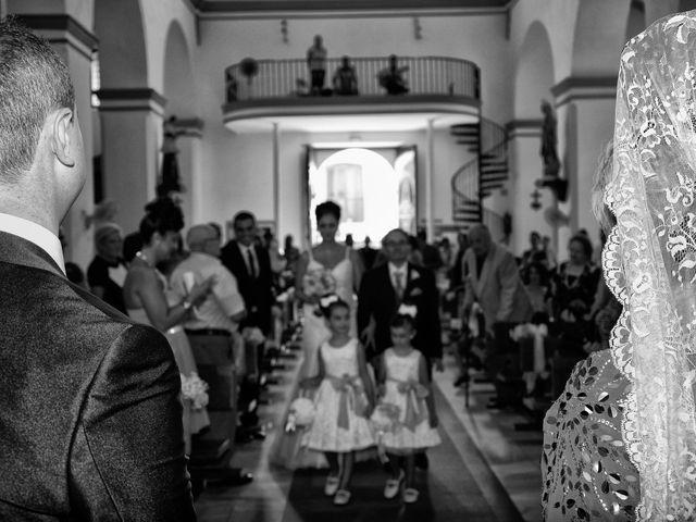 La boda de Antonio y Mª José en Venta Nueva, Almería 2