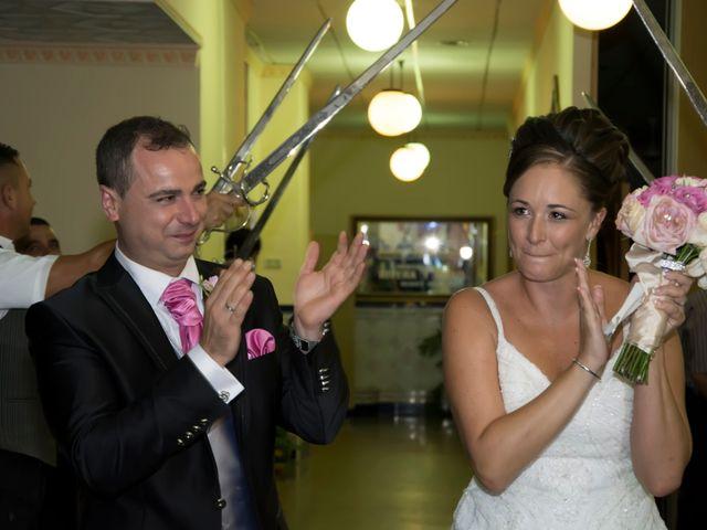 La boda de Antonio y Mª José en Venta Nueva, Almería 53