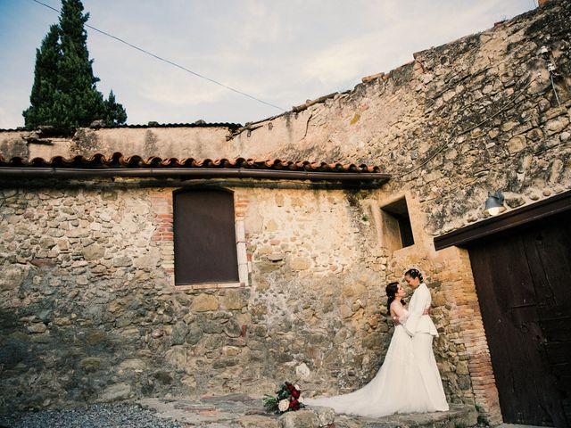 La boda de Ana y Noemí en El Pont De Vilumara I Rocafort, Barcelona 53