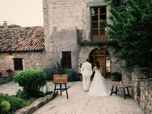 La boda de Ana y Noemí en El Pont De Vilumara I Rocafort, Barcelona 57